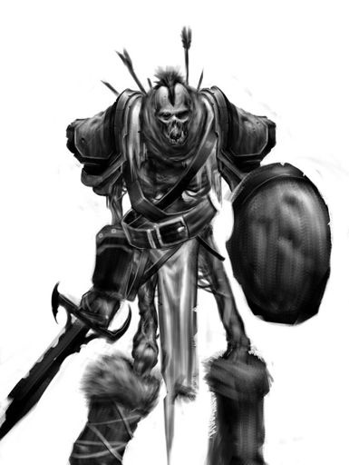 When an Orc dies what would be a cool undead for it to come