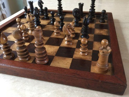 & What is an antique chess set? - Quora