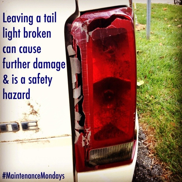 Are Broken Tail Lights A Real Problem In The Us