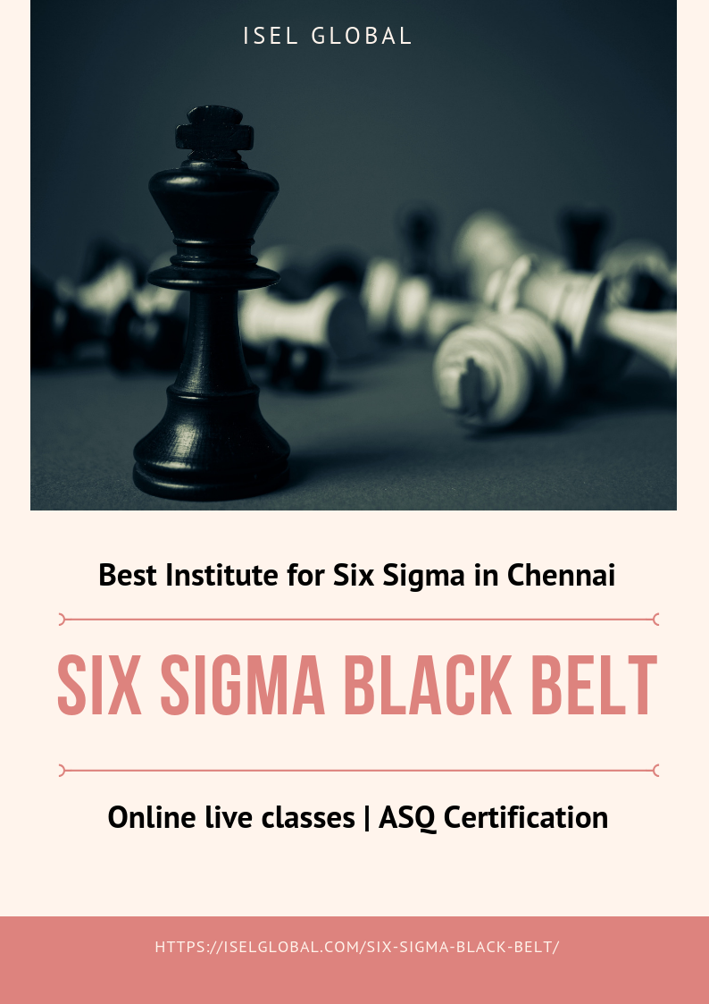Which Is The Best Training Institute For Six Sigma Black Belt