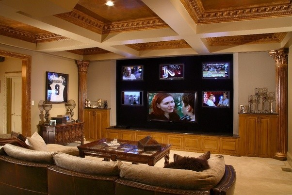 Perfect These Images I Have Shown To Get A Rough Idea What It Looks When Someone  Installs A Home Theater System For Their Home. You May Also Find These  References ...