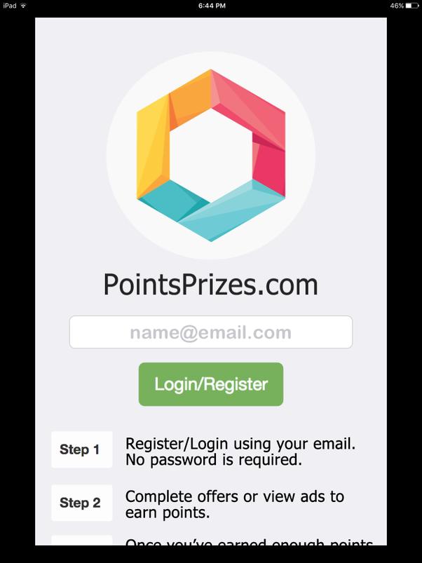 Is points prizes legit
