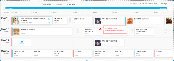 you can edit the suggested itinerary save your dream trip plan and share it with your friends or co travellers
