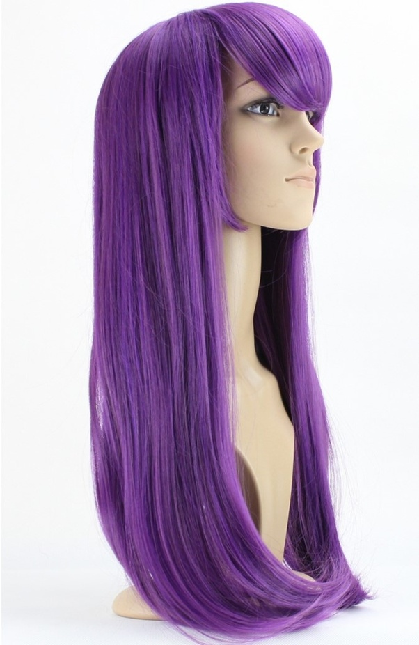 Who is a good anime character to cosplay with purple hair ...