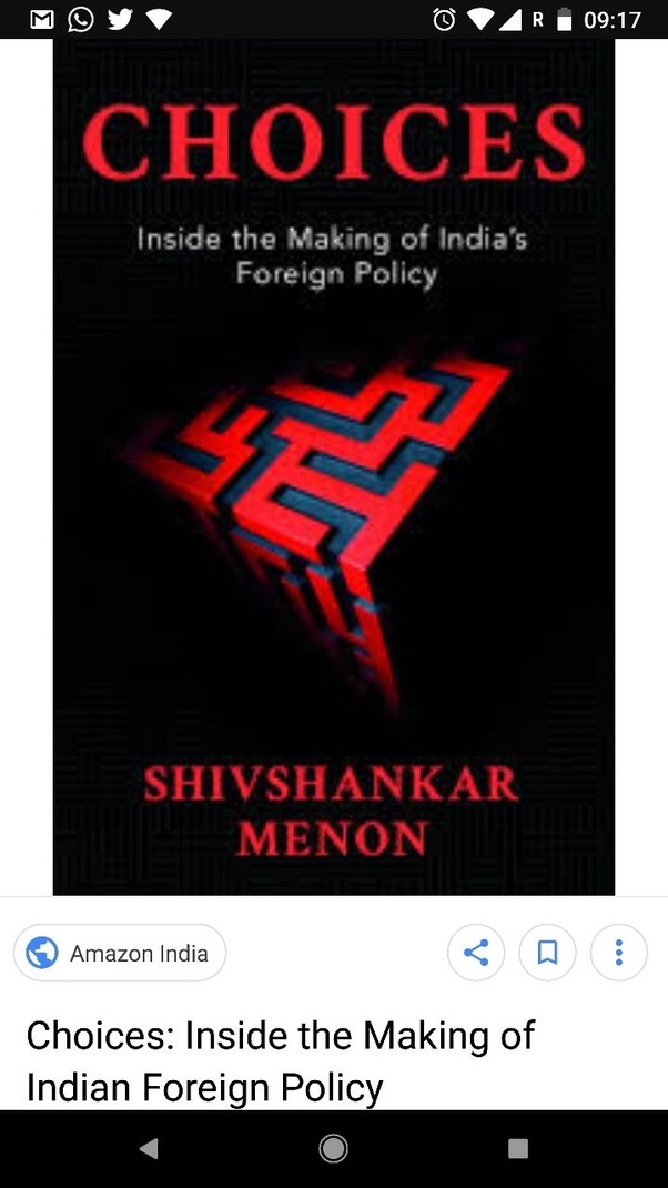 What are some good books on Indian diplomacy or any book