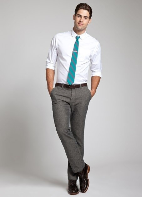 what pant should i wear for a white shirt quora
