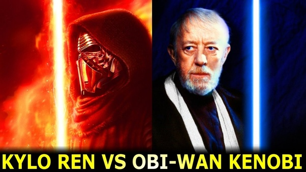 Who Would Win Kylo Ren Or Obi Wan Kenobi On A Completely Flat