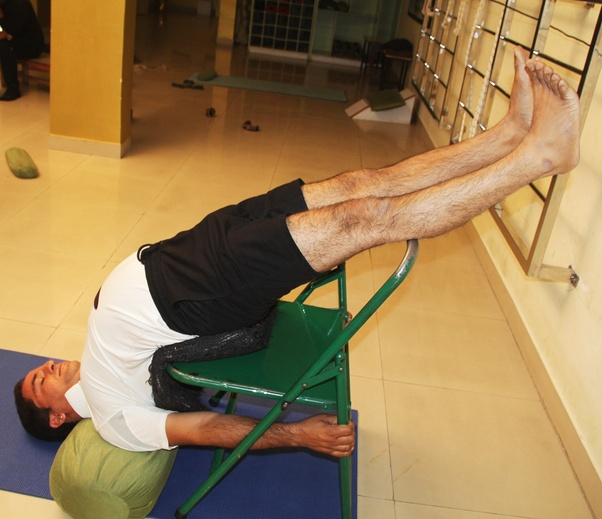What are some yoga poses to avoid if you have cervical spondylosis