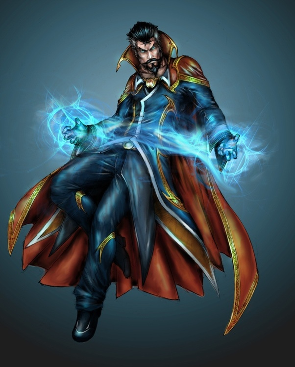 How strong is Dr  Strange? - Quora
