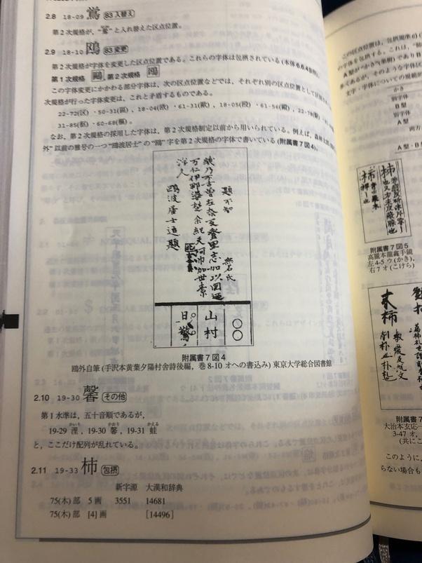 柿 と 似 た 漢字