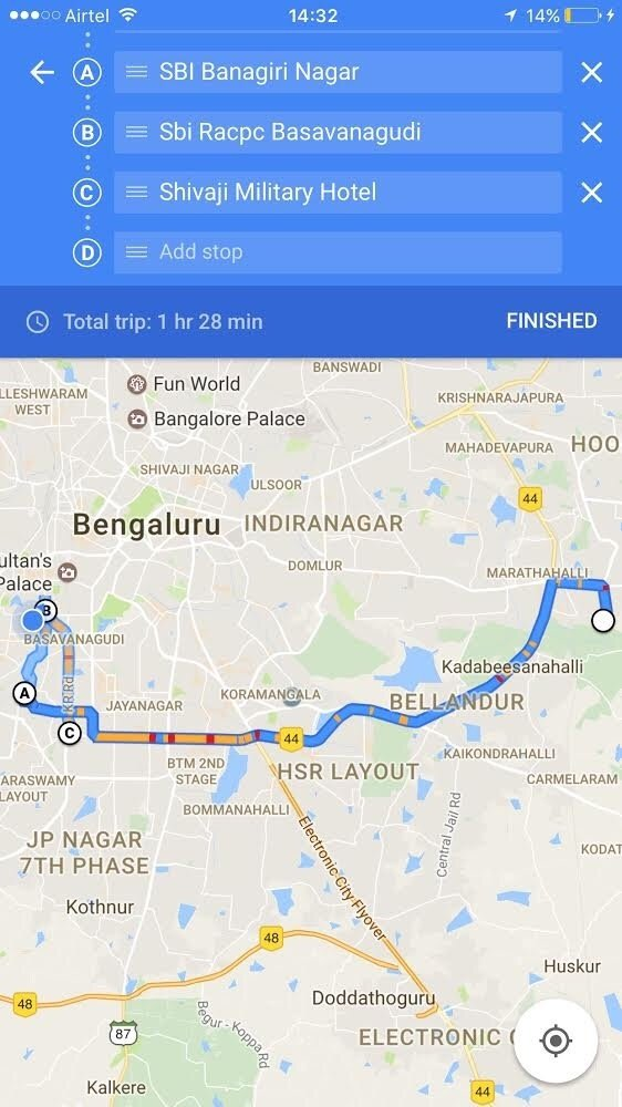 Taxi Apps Use GPS For Calculating Distance Travelled Thus - Route map and distance calculator