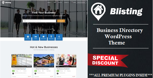 Which are the free wordpress business directory themes and plugins a playful and modern wordpress theme for local or global directory sites it has a full width header an intuitive search form and a clean design accmission Images