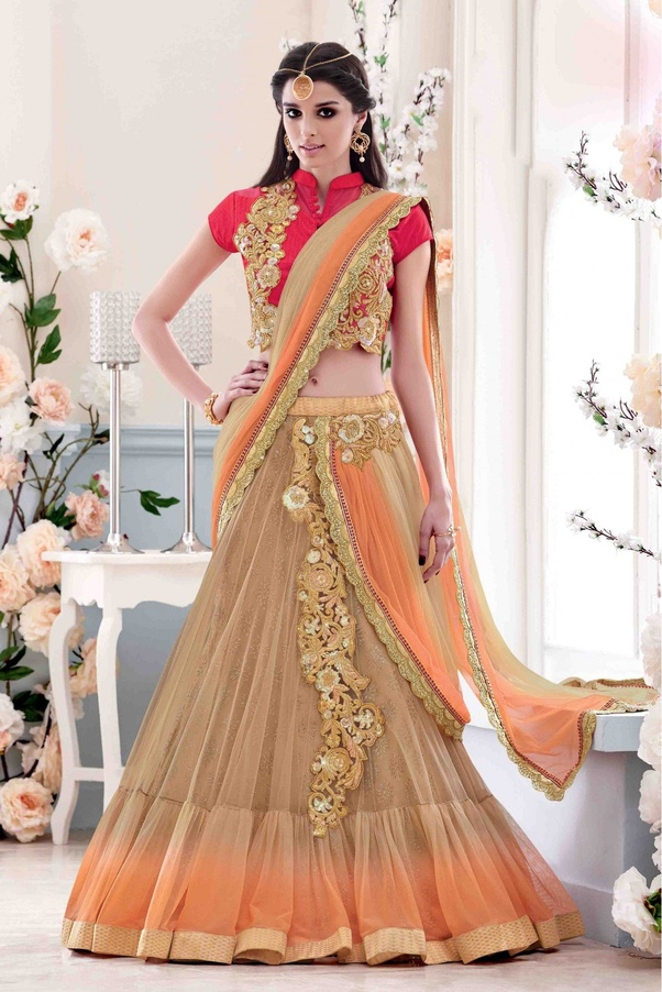 Why are the Party Wear Lehenga Saree So famous nowadays ? - Quora