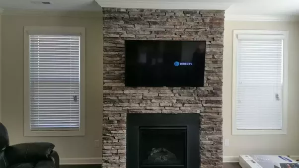 How to mount a tv over a fireplace quora the other issue you will need to look into is wire concealment if you plan on hiding the wires due to fire blocking required in most municipalities diy solutioingenieria Images
