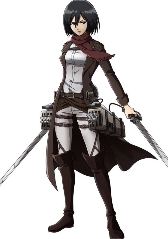 Who S The Hottest Girl In Attack On Titan Quora
