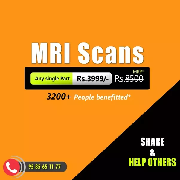 MRI Scan cost in India – Pay 50% lesser – Save your Money!