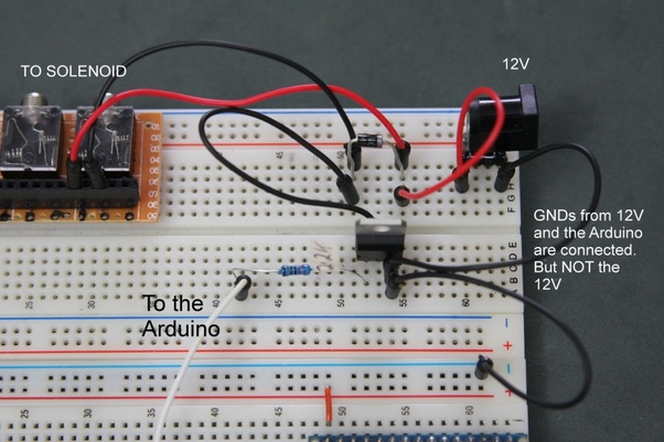 How to trigger a latch solenoid valve from Arduino - Quora