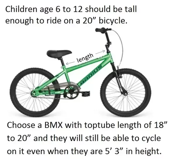 What Size Bmx Should A 51 11 Year Old Get Quora