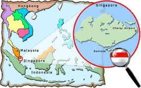 Map Of Asia Showing Singapore.Where Is Singapore Quora