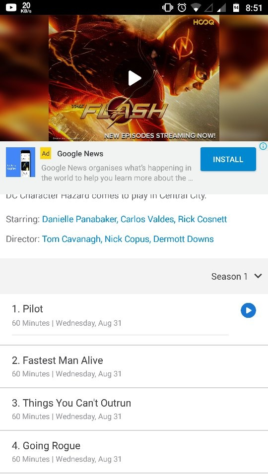 Where can I download The Flash season 1 for free with no