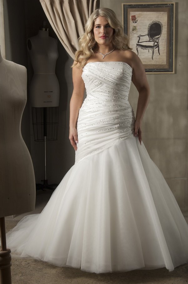 What Are Good Suggestions For Cheap Plus Size Wedding Dresses Quora