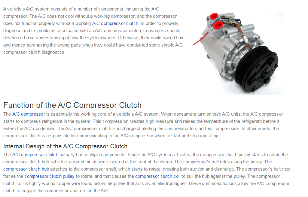 What does the A/C button in a car do exactly? - Quora