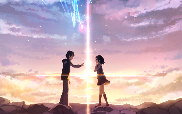 2016 Definitely One Of The Best Anime Movie Current Generation Your Name Is Focused On A Love Story Which Goes Beyond Space Time