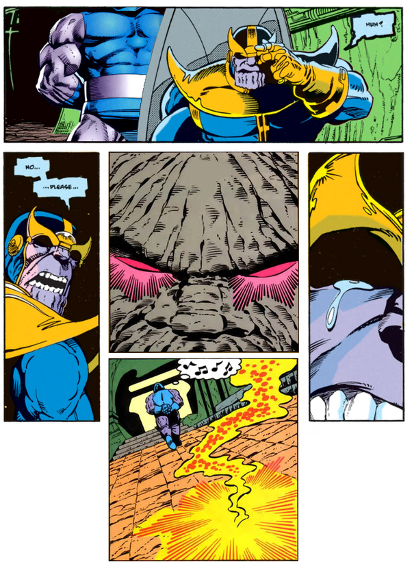 In a battle between Darkseid and Thanos, who would win, and why? - Quora