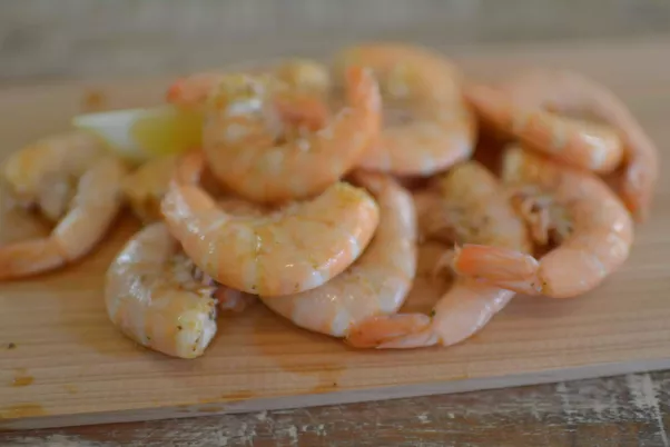 for three Quantity adults shrimp of