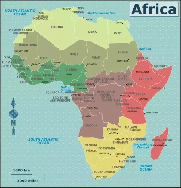 What Are The Geographic Regions Of Africa Quora - Regions of africa