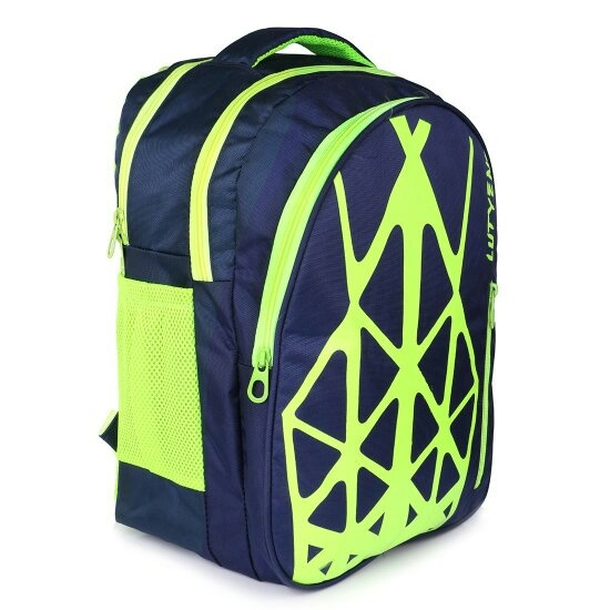 52a559e5530a Lutyens Blue Yellow School Bag II Backpack II Multiuse bag II Smart Tuition  Bag (19 Ltr) (Lutyens 229)