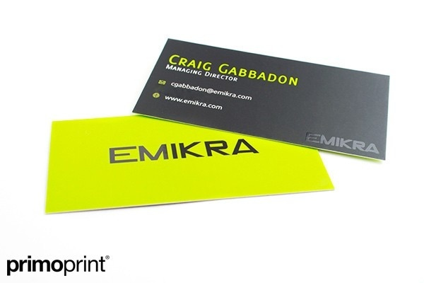 Which is best one sided or two sided business cards quora primo print business cards reheart Choice Image