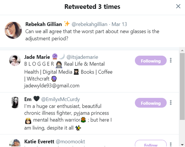 And Like With The People Whove Liked It Those Who Have Chosen To Retweet It Will Come Up Here You Can Perform The Same Functions Here As You Can With