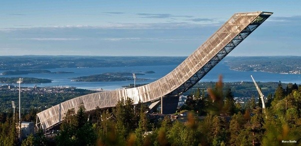 It S Located On A Hill Above Town And There Is Platform At The Top That You Can Visit If Like Offers Best Views Over Oslo