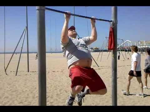 Sobrepeso y calistenia dificulta los ejercicios