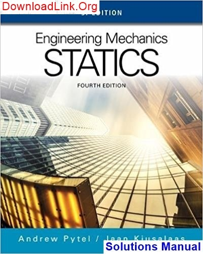 Engineering Mechanics Statics And Dynamics Solution Manual Pdf