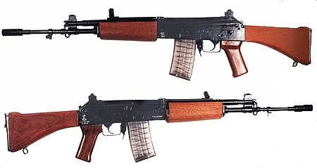 Is there an assault rifle that's a balance of the AK and the
