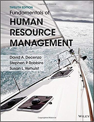 where can i get fundamentals of human resource management 12thfundamentals of human resource management, binder ready version 12th edition