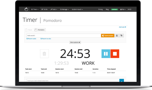 What are the best Pomodoro tracking apps for Mac? - Quora