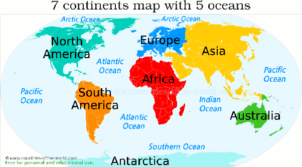 My girlfriend asked me which continent Africa was on what should I