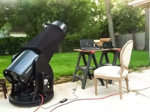 Can you use a telescope inside the city or would the magnification