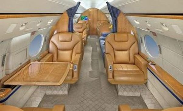 What did the interior of Steve Jobs Gulfstream jet look like Quora