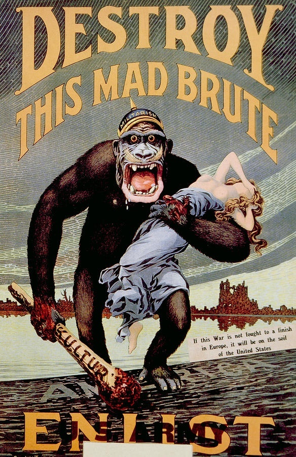 What are some good WW1 propaganda poster ideas for a ...