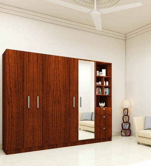 Mebelkart And Amazon Also Have A Decent Range Of Designs Of Wooden Wardrobes .