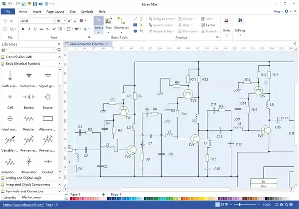 Best Schematic Drawing Software - Circuit Diagram Symbols •