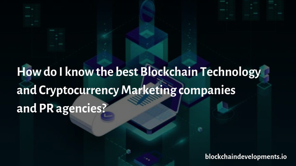 marketing companies for cryptocurrency