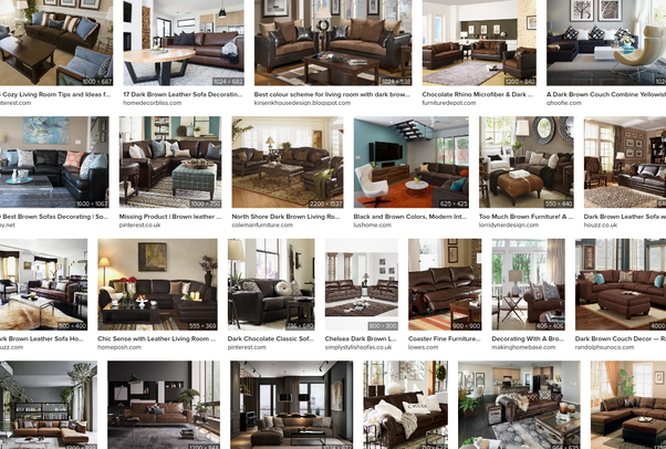 What Color Walls Look Good With Dark, What Color Walls With Chocolate Brown Furniture