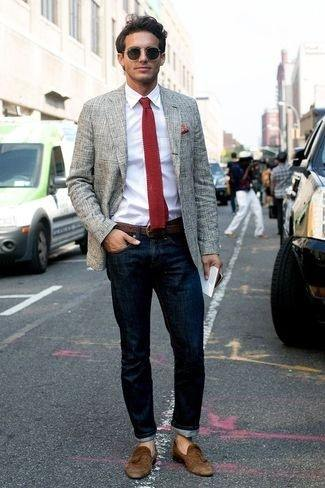 What Pants Should I Wear With A Gray Blazer Quora