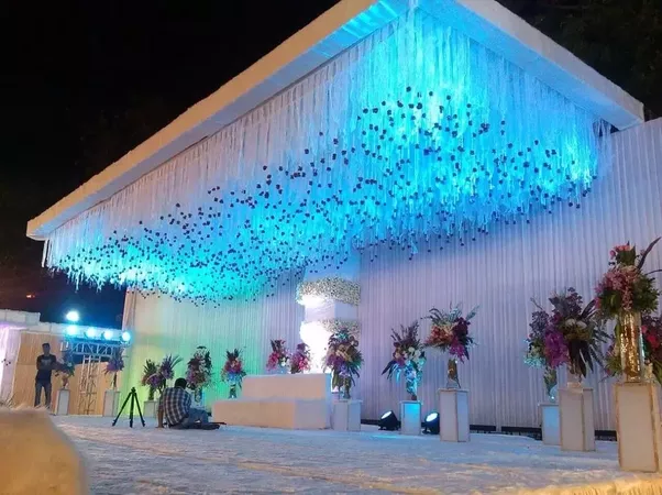 What are some cool wedding decorations quora for more traditional wedding decoration in india junglespirit Images