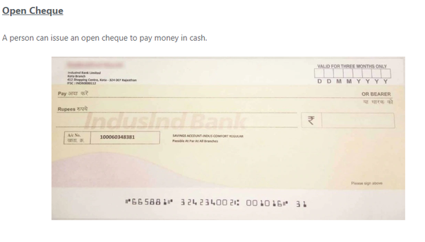 What are the different types of cheques? - Quora